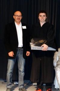 Gabriel Picard, gagnant pour l'école secondaire de Saint-Paul-de-Montminy